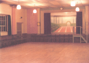 Village hall original interior