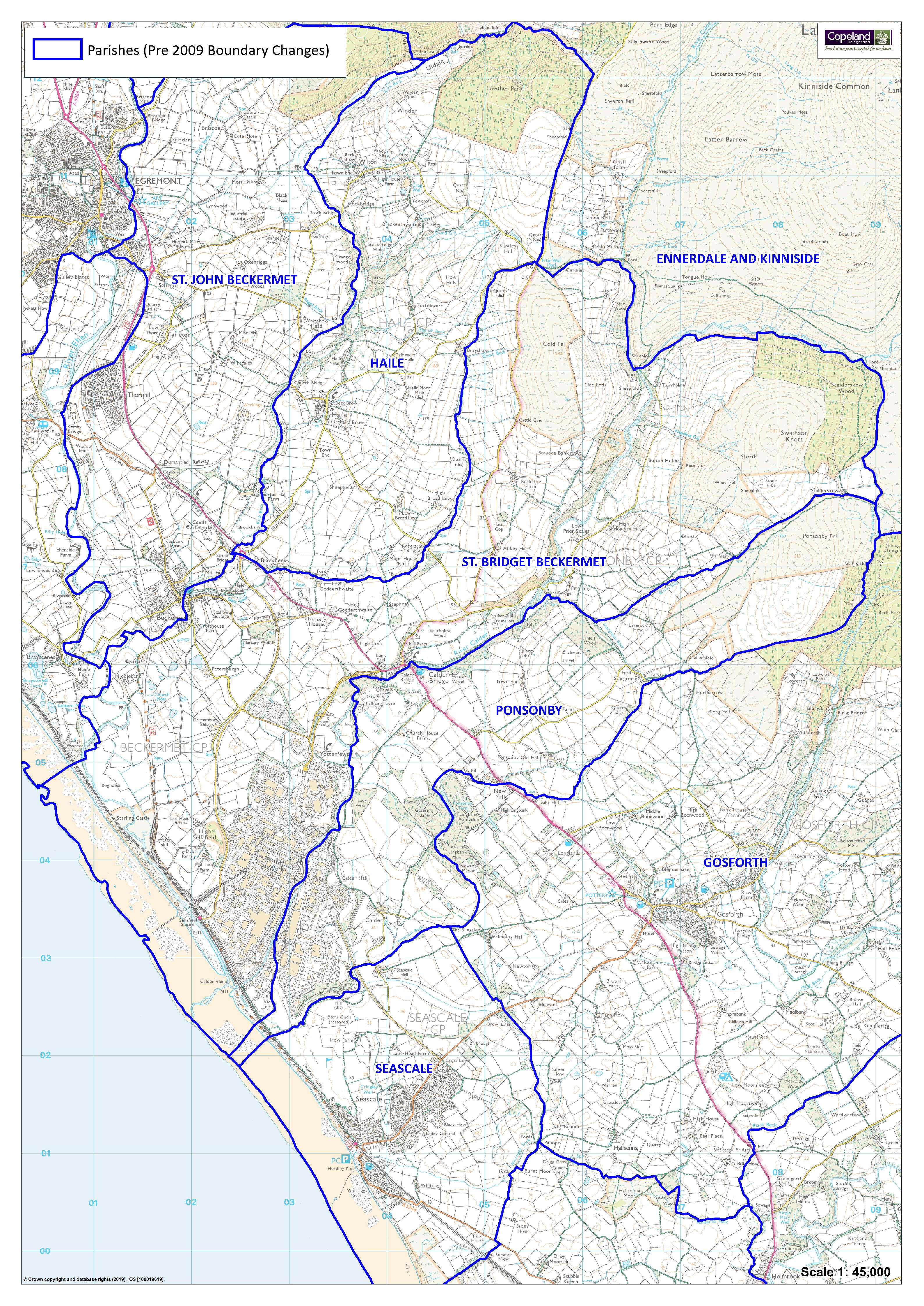 Ponsonby Parish Old Boundaries