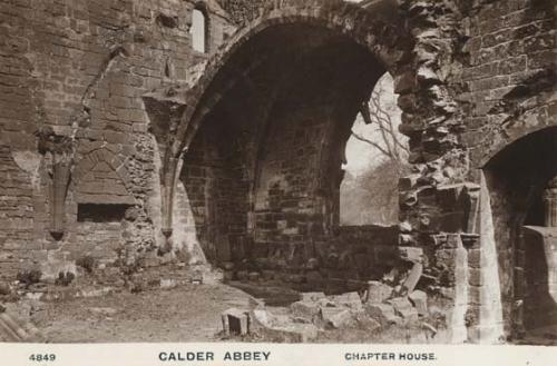 Callder Abbey Chapter House